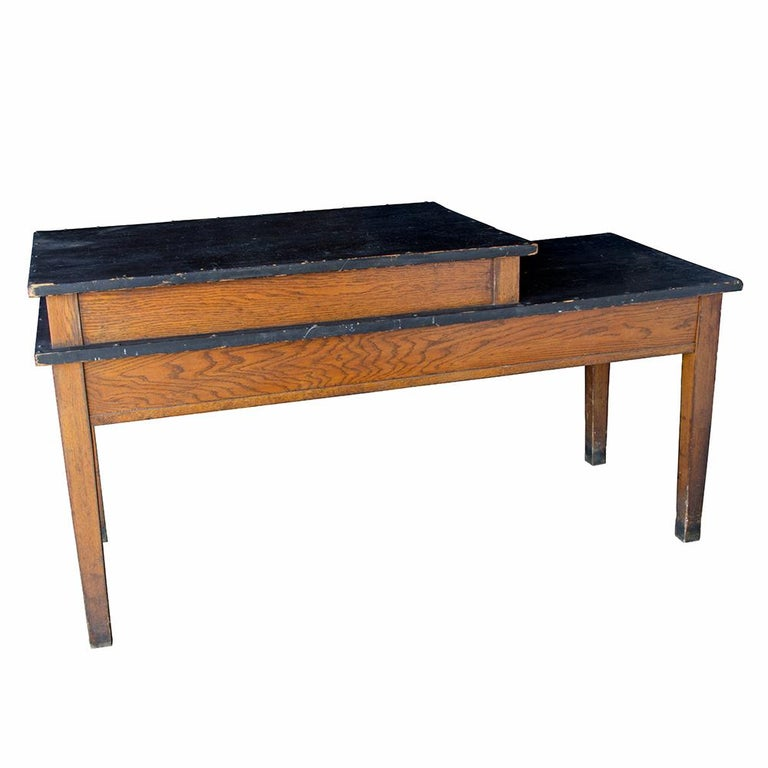 Oak Convent Work Table For Sale