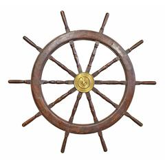 20th Century Ship's Wheel