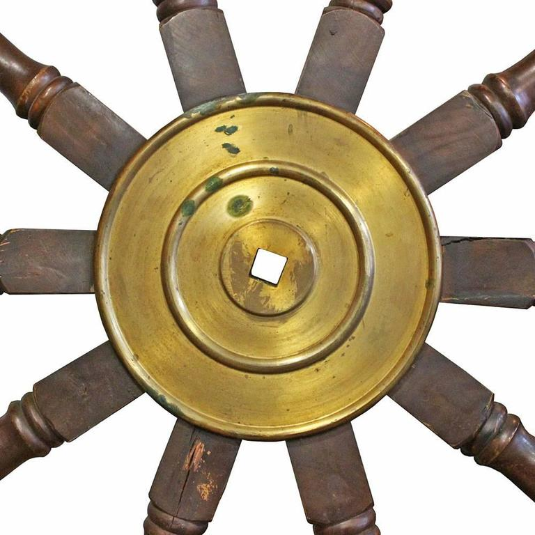 American 20th Century Ship's Wheel For Sale