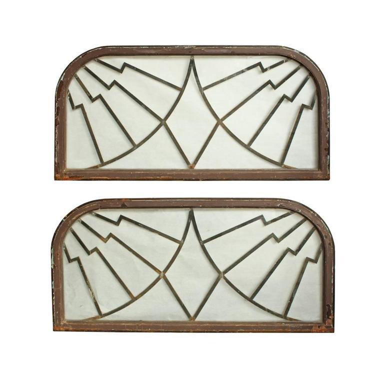 Art Deco Steel Framed Windows at 1stdibs