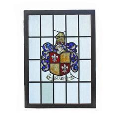 "Iron Framed Heraldic Window ""Macy"""