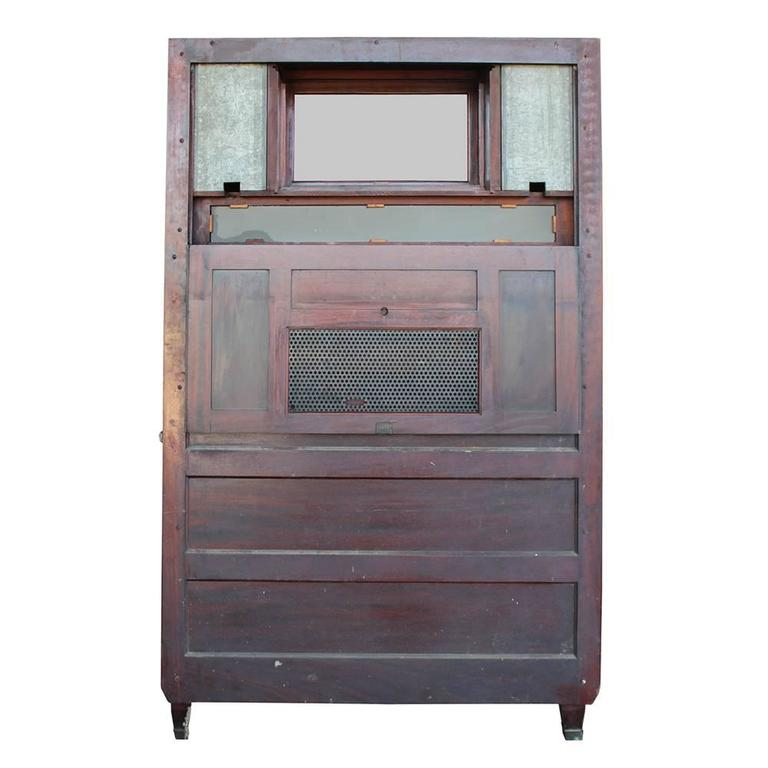 American Cabinet Co Early 20th Century Mahogany Dental