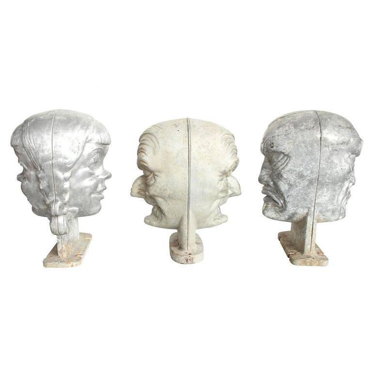 Mid-Century Halloween Mask Molds 4