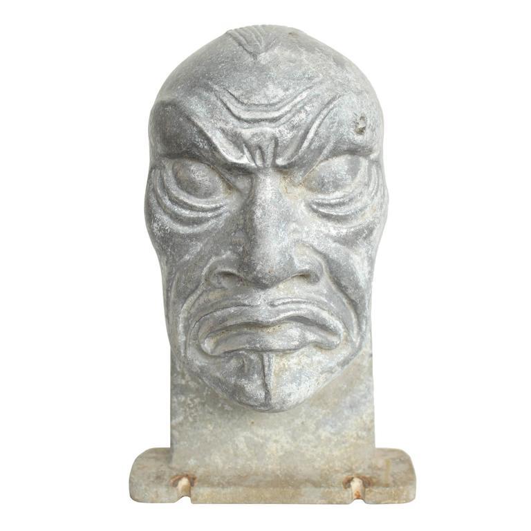 Mid-Century Halloween Mask Molds 6