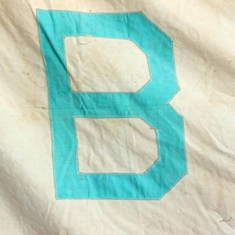 Vintage Circus Tent Flag, Bailey In Fair Condition For Sale In Aurora, OR