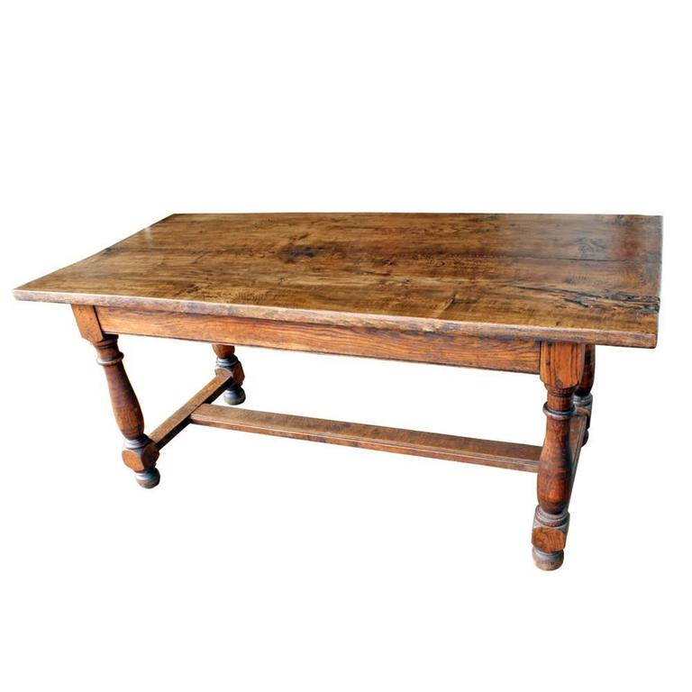20th Century Vintage French Farm Table For Sale