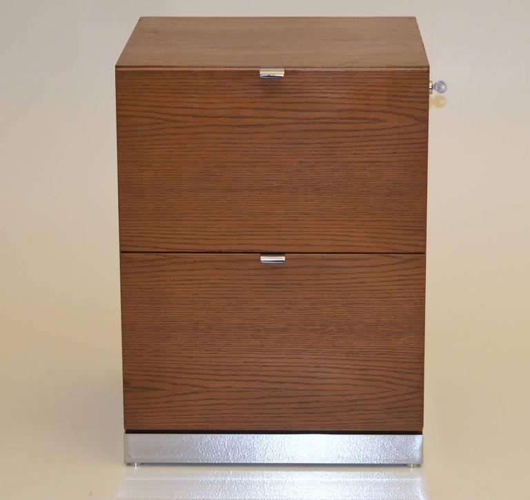 John Geiger For Interiors International Limited File Drawer Cabinet