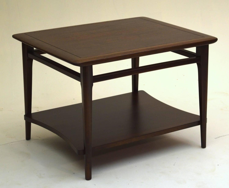 Fine Walnut Table By Lane Altavista For Sale At 1stdibs