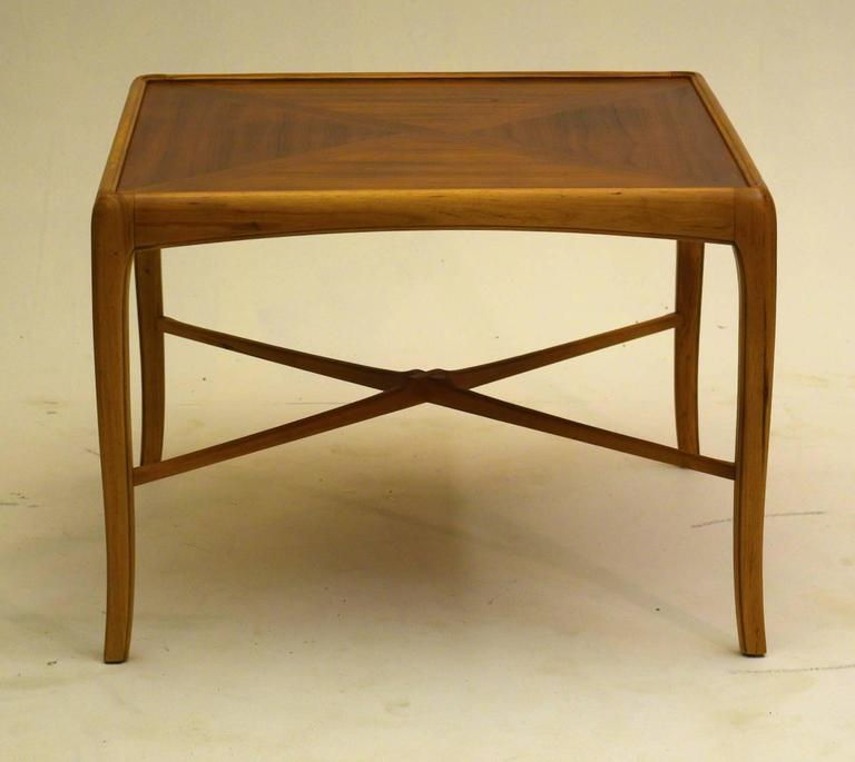 Walnut And Fruitwood Table By Thomasville 1965 For Sale At 1stdibs