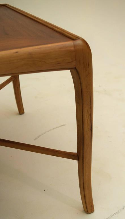 American Walnut and Fruitwood Table by Thomasville, 1965 For Sale