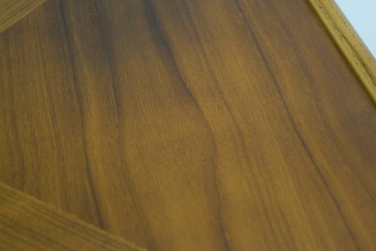 Walnut and Fruitwood Table by Thomasville, 1965 For Sale 2