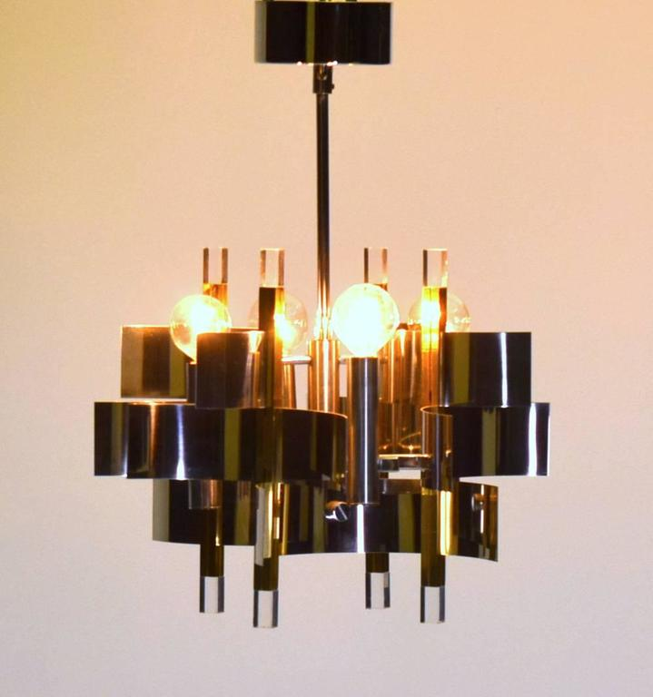 Foyer Chandelier For Sale : Four light petite foyer entry pendant chandelier by