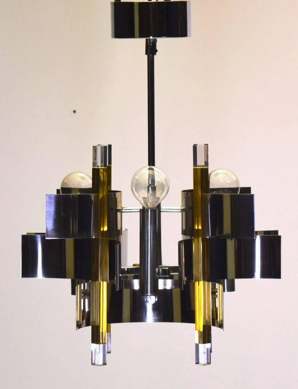 Four Light Petite Foyer Entry Pendant Chandelier By