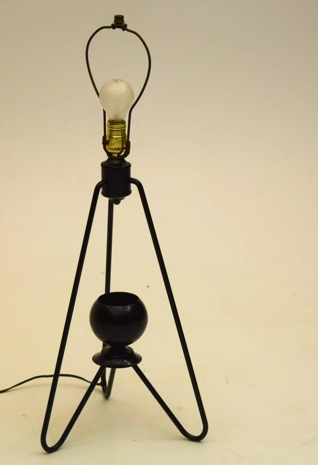 Early Table Lamp by Gerald Thurston for Lightolier For ...