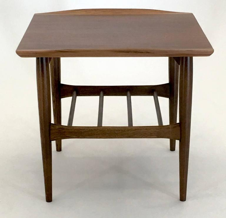 Danish Style Coffee Table: Danish Modern Style Coffee Table By Bassett For Sale At