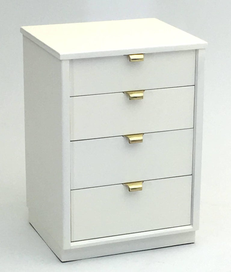 Very fine pair of nightstands by edward wormley 1949 at for Very cheap bedroom furniture