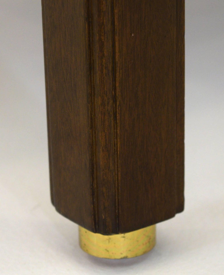 Mid-20th Century Fine Two-Tone Occasional or End Table by Dunbar in Walnut For Sale