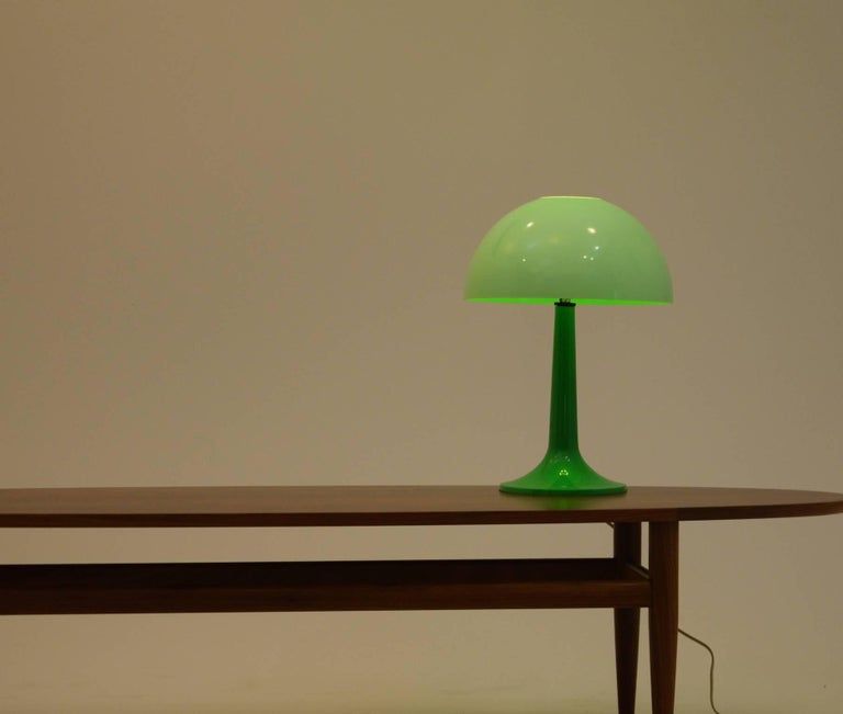 Mushroom Op Art Table Lamp For Sale At 1stdibs