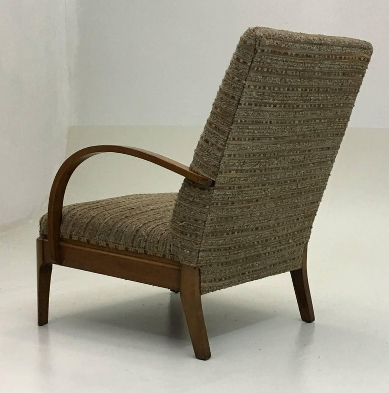 Art Deco Lounge Chair For Sale 3