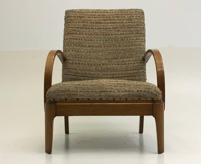 Art Deco Lounge Chair For Sale 4