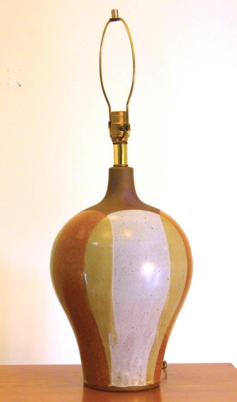 David Cressey, USA circa 1965 Cast Stoneware, drip glaze Vessel 18