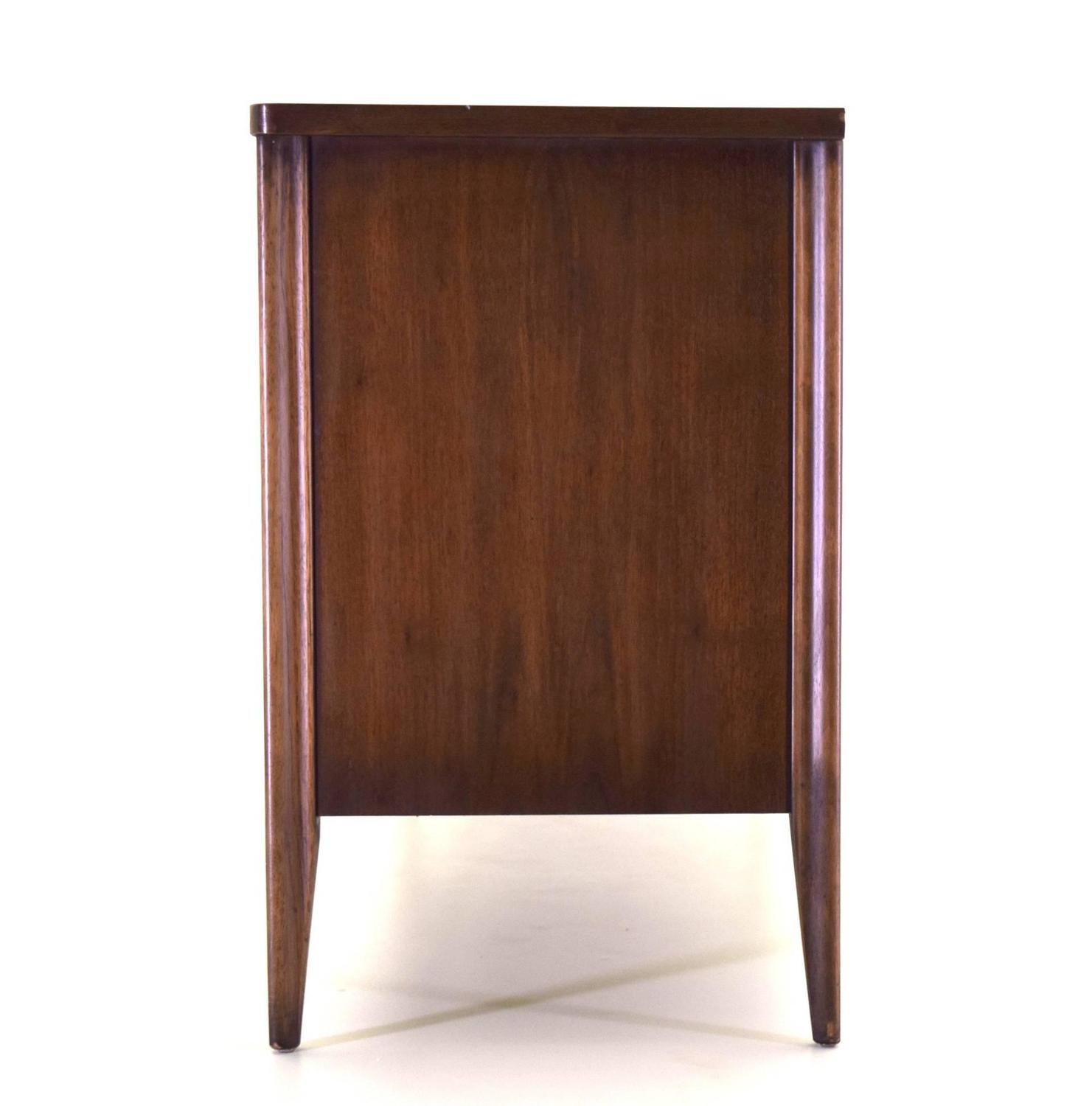 saga dresser by broyhill premier in dark walnut at 1stdibs