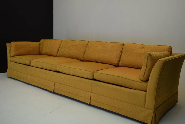 Signed Nine Foot Sofa By Kay Lambeth Of Erwin Lambeth In
