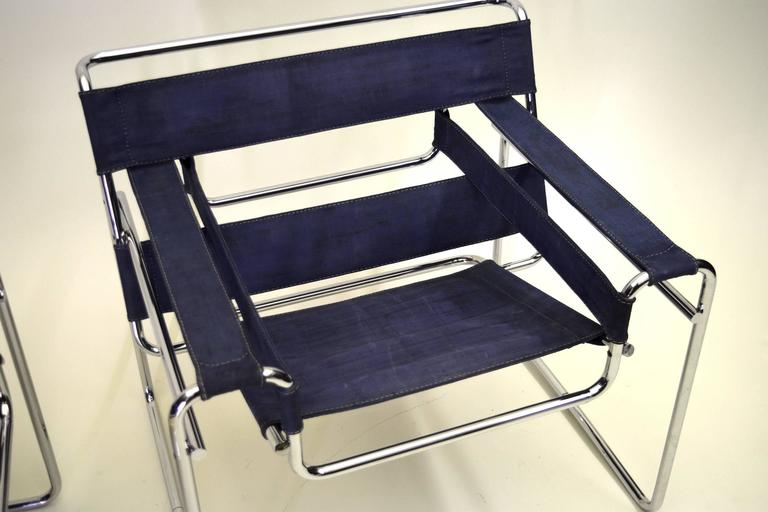 Blue Canvas   Not Denim. Prior To Knoll Collecting The License In 1968,  Gavina