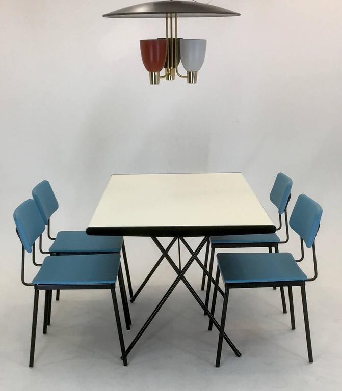 Dining Room Sets Columbus Ohio: 1953 Rare Dinette Set By Raymond Loewy For Arvin For Sale