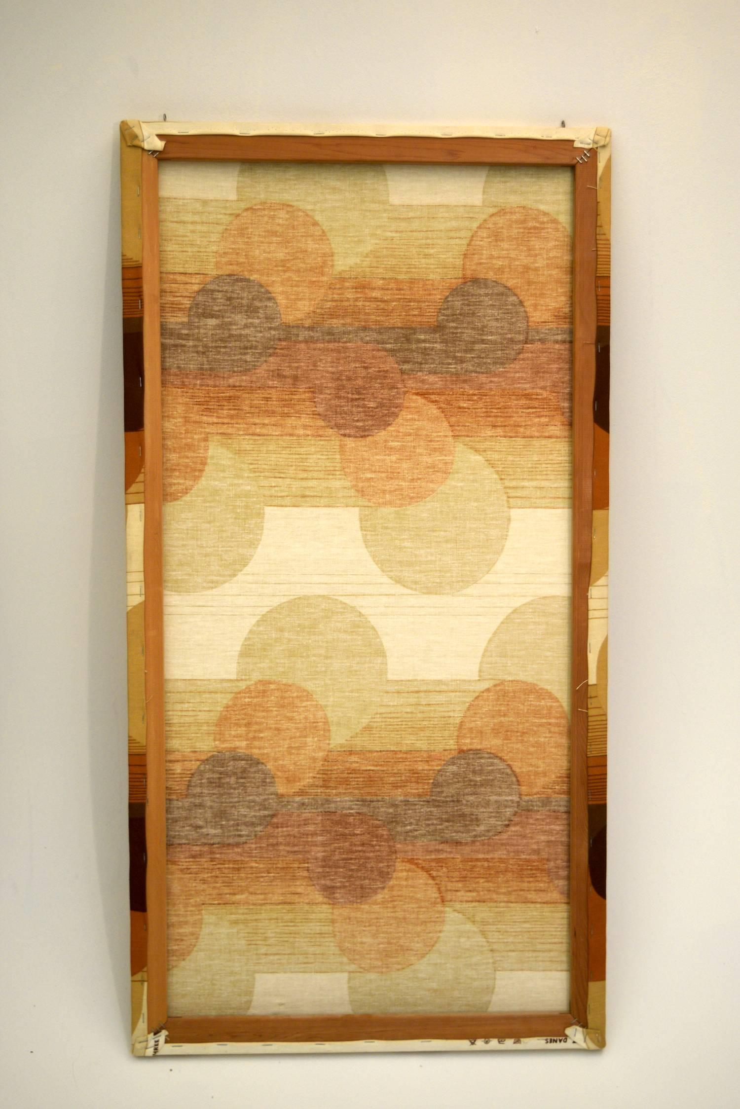 1960s Op Art Wall Covering Panels by Three by Danes For Sale at 1stdibs