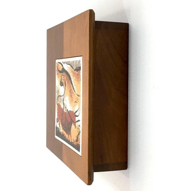 Mid Century Modern Wall Mounted Key Holder Cabinet Box For