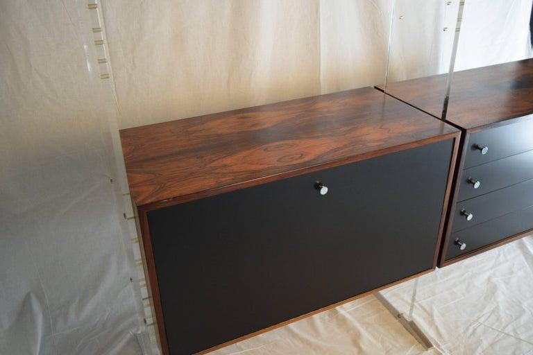 Room Divider and Storage Cabinet System by Poul Nørreklit, Denmark For Sale 2
