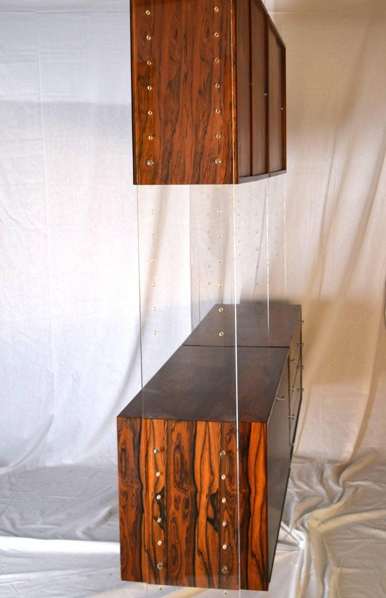 Danish Room Divider and Storage Cabinet System by Poul Nørreklit, Denmark For Sale