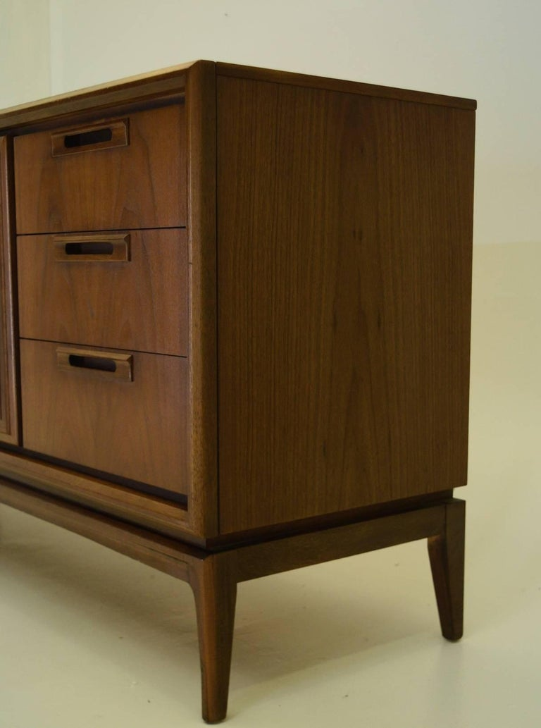 American Walnut Credenza For Sale 1
