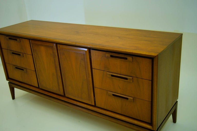 American Walnut Credenza For Sale 3