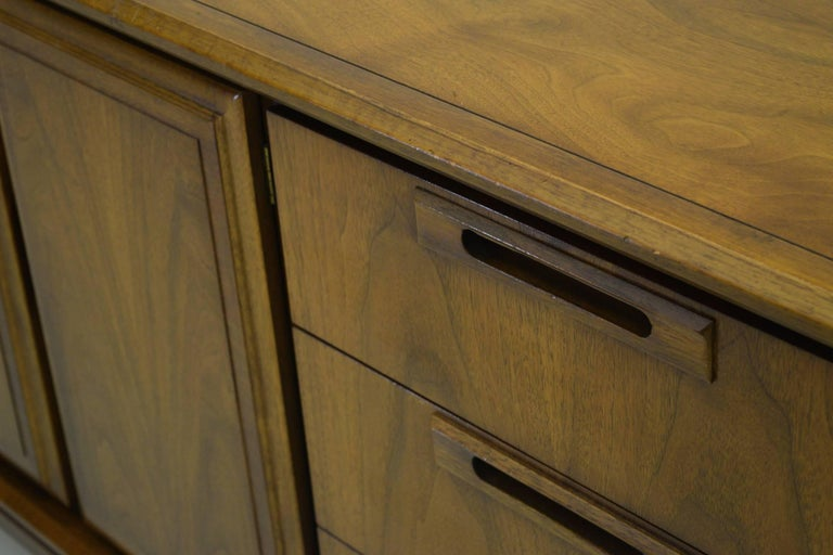 American Walnut Credenza For Sale 2