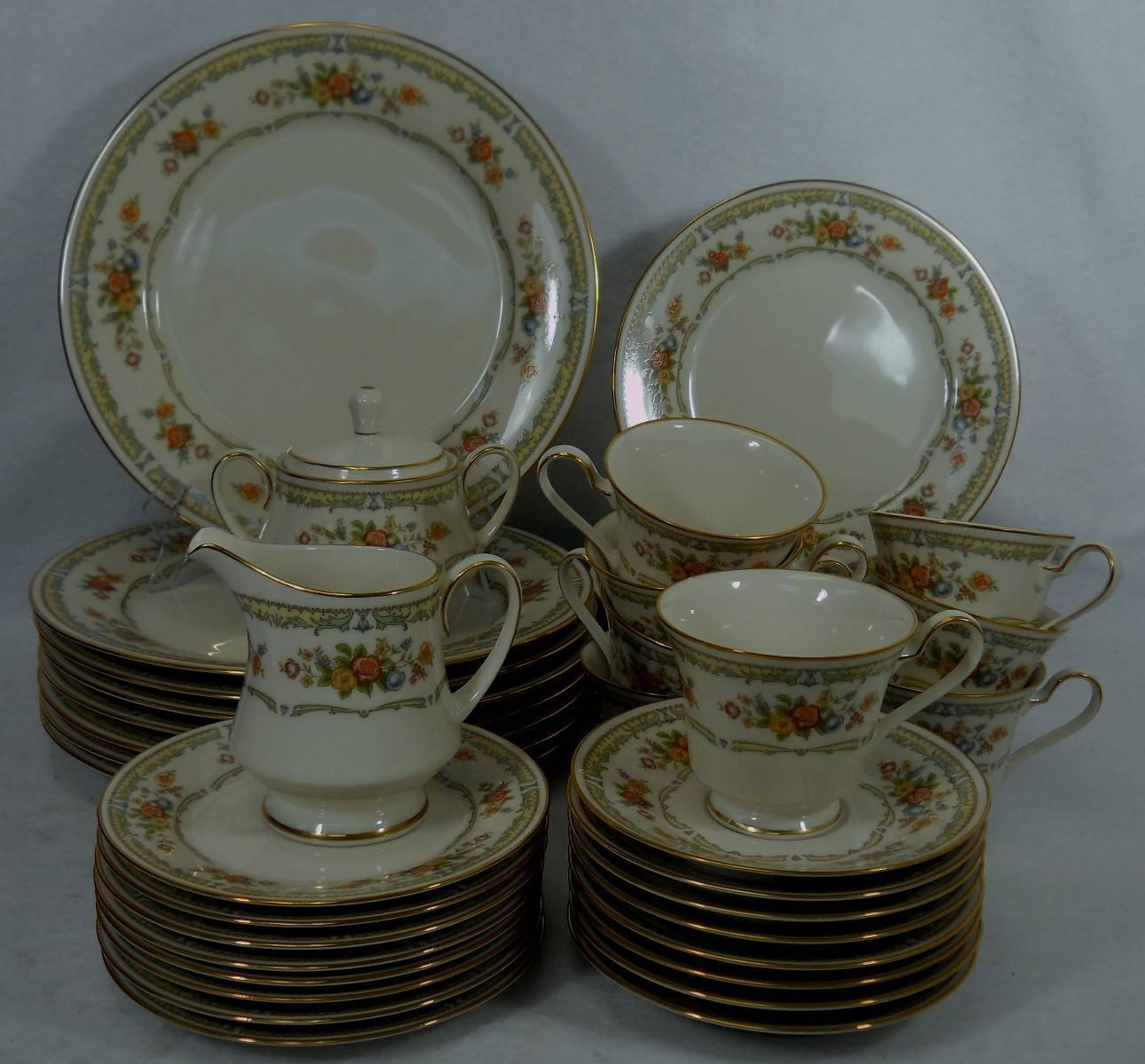 Noritake China Homage 7236 Pattern 43 Pc Set Service For