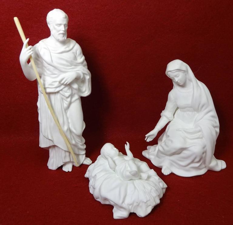 Lenox 12 Piece White Nativity Set Holy Family 3 Kings