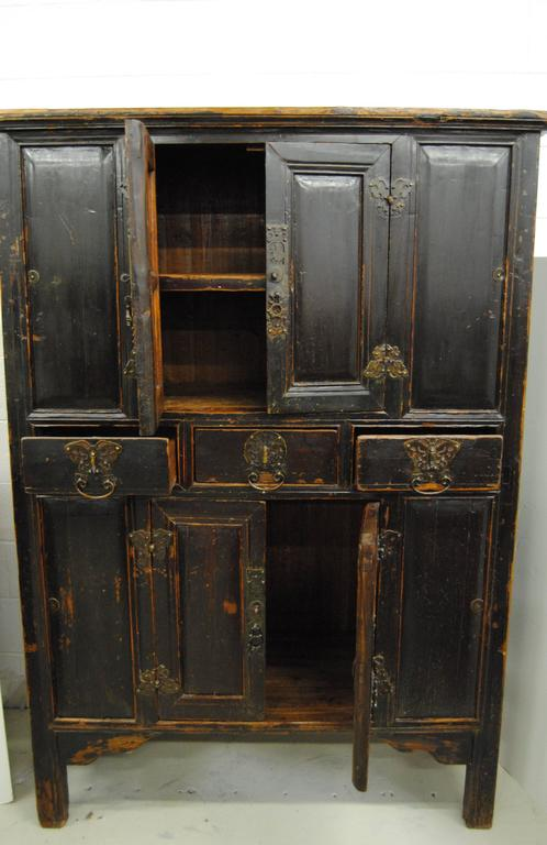 Antique Chinese 19th Century Armoire From Zhejiang At 1stdibs