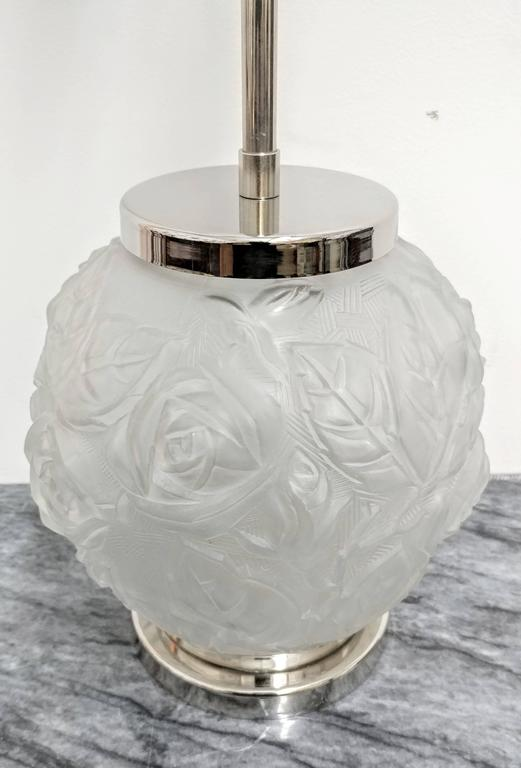 Pair of French Art Deco Table Lamps In Good Condition For Sale In Bronx, NY