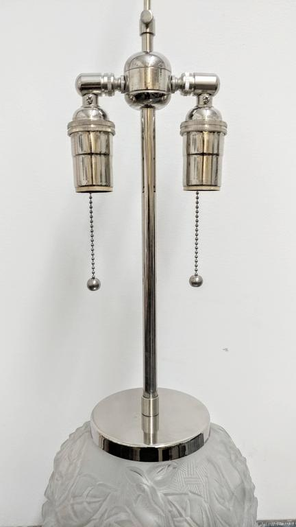 20th Century Pair of French Art Deco Table Lamps For Sale
