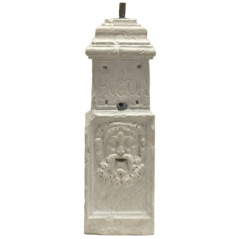 Mid-19th Century Italian Marble Mile Marker