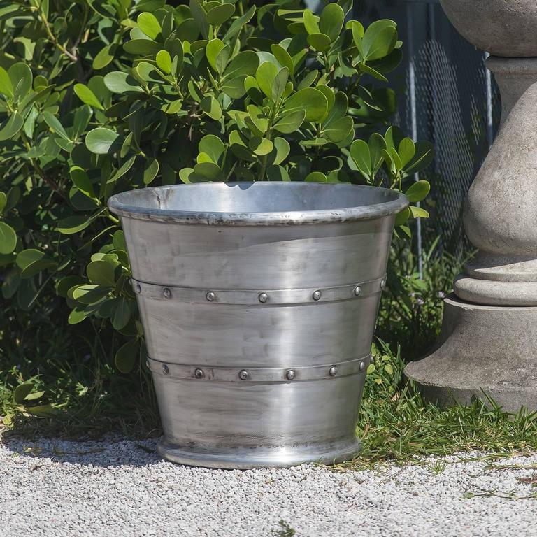 Aluminum Garden Planter Jardiniere For Sale At 1stdibs