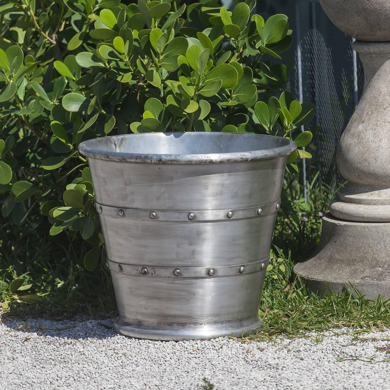 Aluminum garden planter jardiniere for sale at 1stdibs - Planters contact provence ...