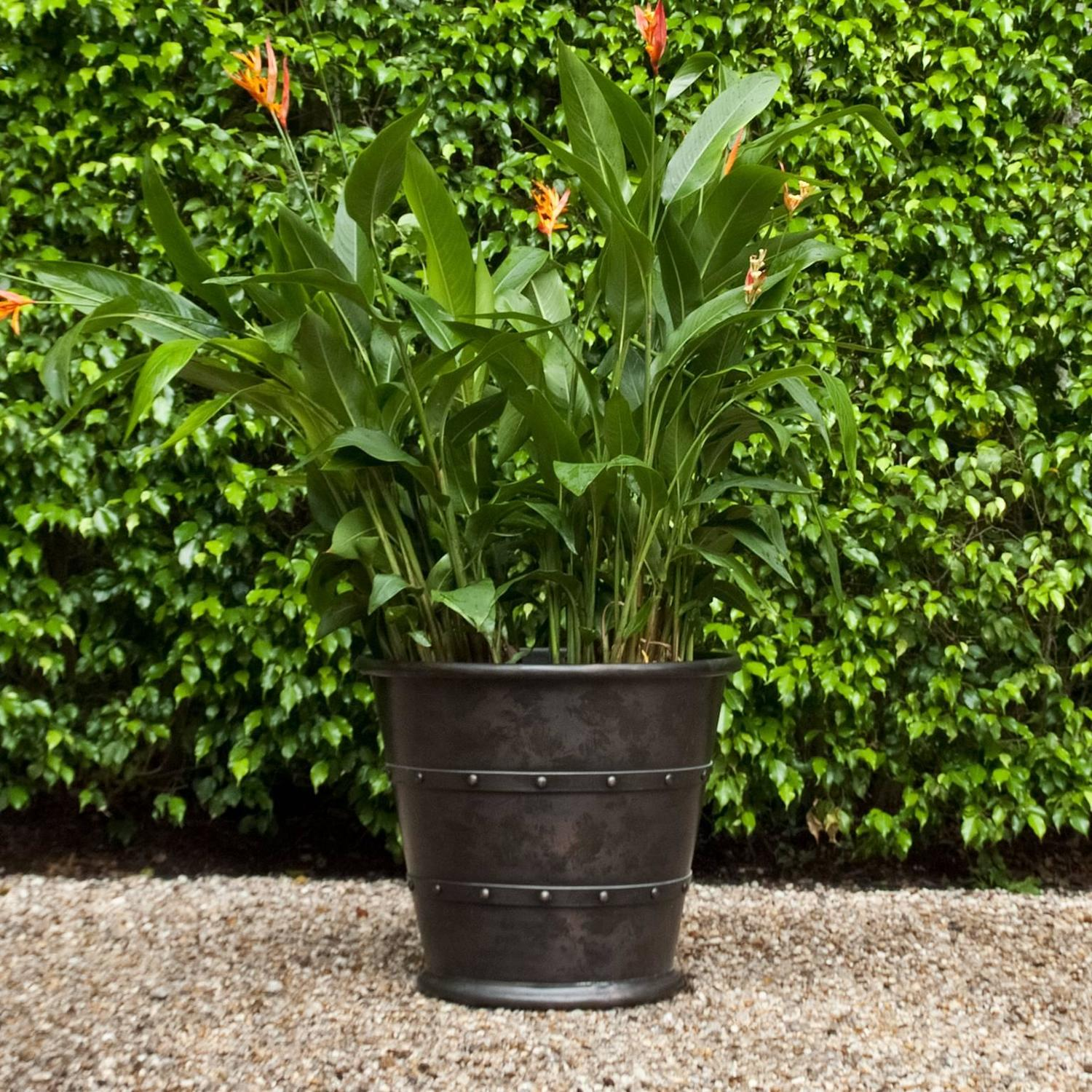 Copper Garden Planter Jardiniere For Sale At 1stdibs