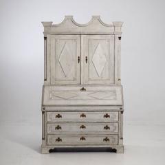 18th Century Scandinavian Secretaire Desk