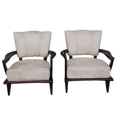 20th Century Pair of French Fauteuils Etienne Henri Martin