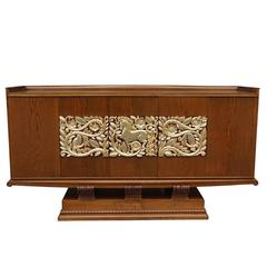 Art Deco Side Cabinet Attributed to Christian Krass