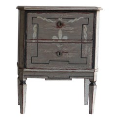 Late 19th Century Pair of Gustavian Chests from Sweden