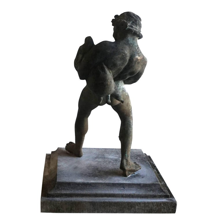 17th Century 17th century, Italian Bronze Sculpture Fragment from a Garden Fountain For Sale